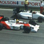 1988年マクラーレンに移籍した年、アイルトン・セナはシーズン8勝を上げ念願のワールド・チャンピオンに輝く。マシンはマクラーレン・ホンダMP4/4、エンジンはホンダRA168E。セナ・プロ時代の開幕である。
