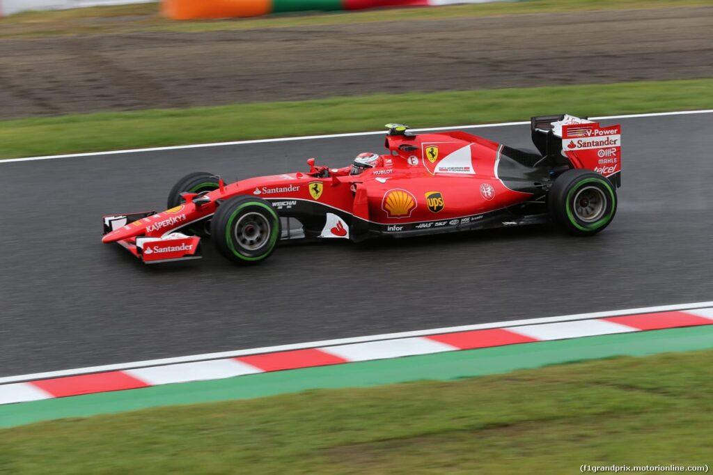 25.09.2015 - Free Practice 2, Kimi Raikkonen (FIN) Scuderia Ferrari SF15-T