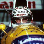 1992年、ウイリアムズ・ルノーFW14Bを駆るナイジェル・マンセルが圧勝した年。アイルトン・セナはチャンピオンシップ4位に沈む。