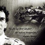 F1ドライバーがヒーローだった時代、セナとプロストは戦った。「アイルトン・セナ〜音速の彼方へ」(セナ・ファン必携アイテム①)