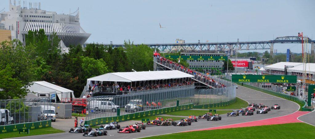 2015 F1 Start Canadian Grand Prix