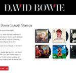 Royal Mail Shopでデヴィッド・ボウイの追悼切手を予約しました。